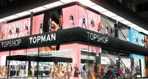 Topshop refuerza su estrategia omnicanal en China