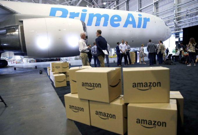 Amazon invierte en un hub para su flota de aviones de carga ...