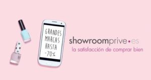 Showroomprive se hace fuerte en el mercado español
