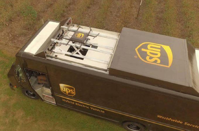 UPS pone a prueba la entrega de paquetes con drones