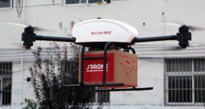 JD desarrolla un dron capaz de cargar una tonelada