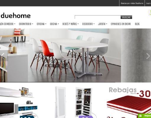 La logística del mueble online: Due-Home y Celeritas