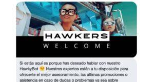 Hawkers toma la delantera en redes sociales: ya vende a través de Twitter