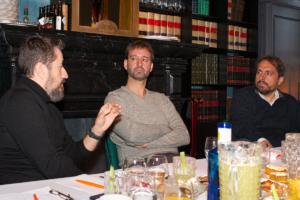 De izquierda a derecha: Eduardo Berrocal, CEO de Runnics; Oriol López, Director Comercial e-Commerce e-Logistcs de Celeritas; Diego de Vicente, Presidente de moddoPlatform.