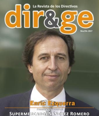 Portada Revista DIR&GE Noviembre / Diciembre 2017