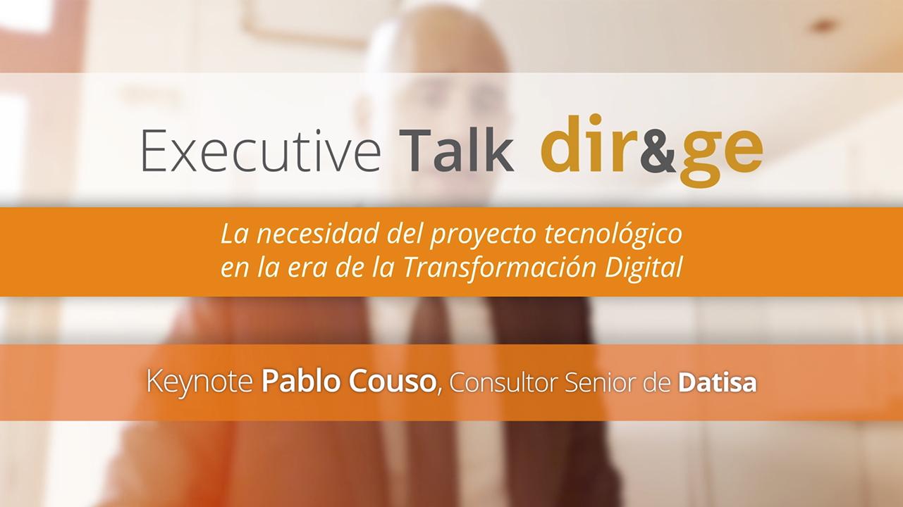 Executive Talk - Pablo Couso proyecto tecnológico