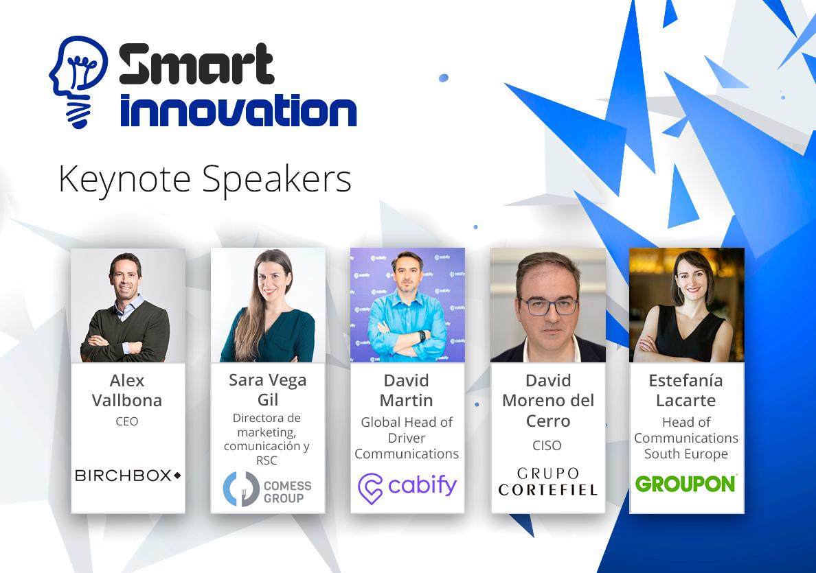 Cabify, Spotahome, Groupon y otras 12 marcas impulsoras de la innovación protagonizarán Smart Innovation 2018