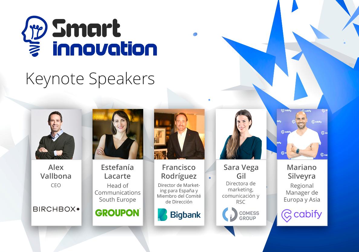 Smart Innovation 2018 analizará el impacto de la innovación en el crecimiento empresarial