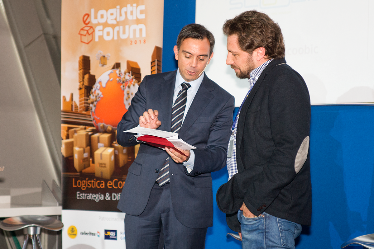 Premio Hacienda Zorita - eLogistic Forum 2018