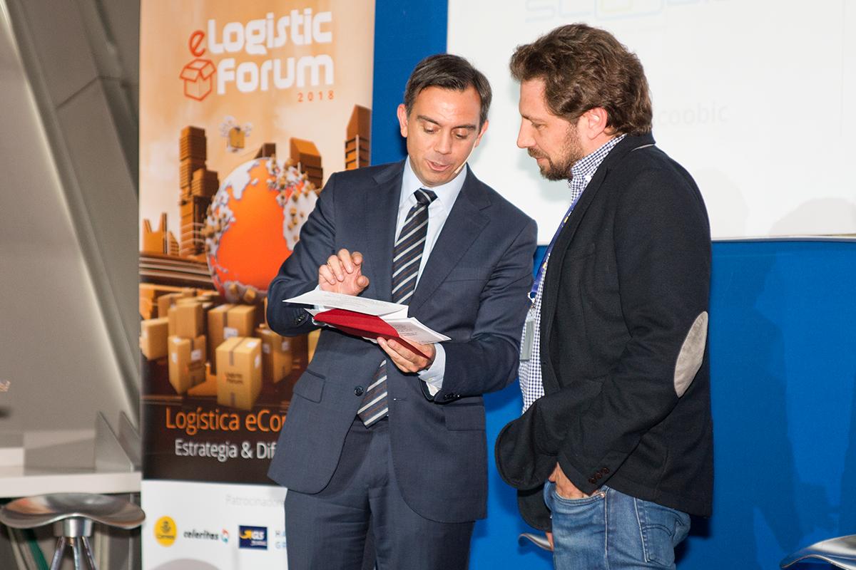 Premio Hacienda Zorita - eLogistic Forum 2018