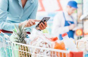tecnología supermercado
