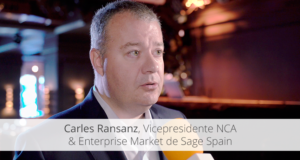 Carles Ransanz, Vicepresidente NCA & Enterprise Market de Sage Spain