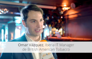 Omar Vázquez, Iberia IT Manager de British American Tobacco