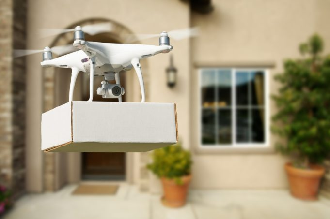 drones paquete australia