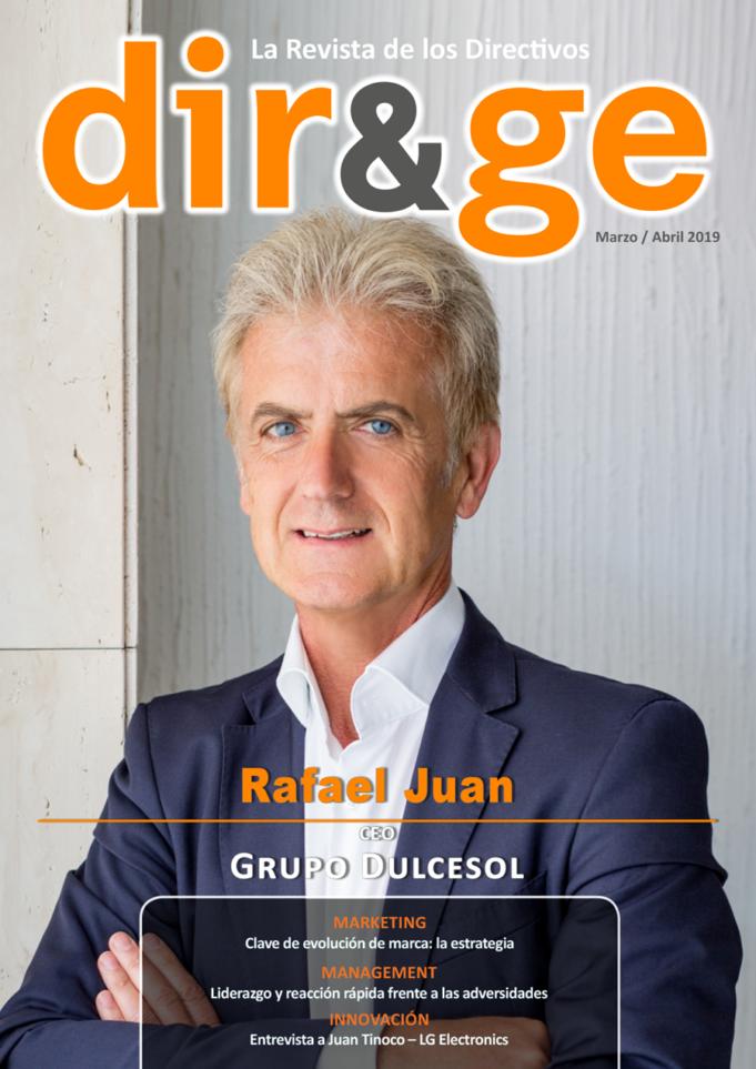Portada Revista DIR&GE Marzo / Abril 2019