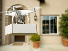 amazon dron logística