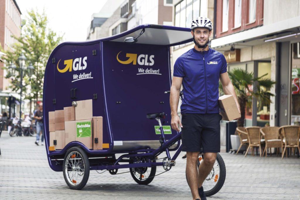 Bicicleta reparto GLS