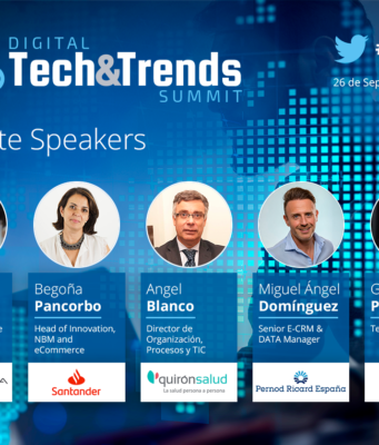 Speakers mesa debate Digital Tech&Trends Summit