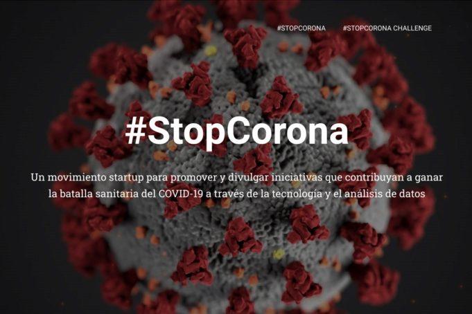 Nace #StopCorona, la plataforma de startups y empresas tecnológicas para ayudar en la lucha contra el COVID-19