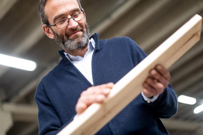Enrique Arrillaga, gerente de Muebles Lufe
